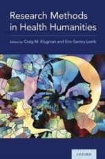 Research Methods in the Health Humanities