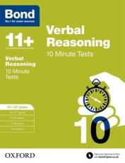 Verbal Reasoning. 11-12 Years 10 Minute Tests