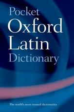 Pocket Oxford Latin Dictionary