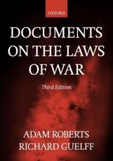 ISBN: 9780198763901 - Documents on the Laws of War