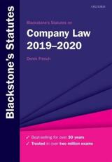 Blackstone's Statutes on Company Law
