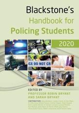 Blackstone's Handbook for Policing Students