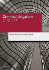 Criminal Litigation 2020-2021