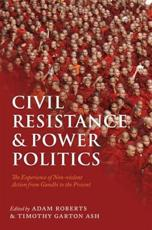 ISBN: 9780199691456 - Civil Resistance and Power Politics