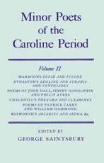 Minor Poets of the Caroline Period: Minor Poets of the Caroline Period