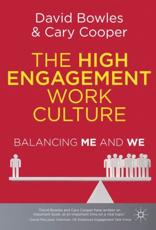 The High Engagement Work Culture
