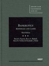 Bankruptcy Materials and Cases