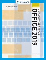 Illustrated Microsoft¬Office 365 & Office 2019 Introductory