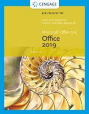 New Perspectives Microsoft¬Office 365 & Office 2019 Introductory