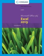 New Perspectives Microsoft¬ Office 365¬ & Excel¬ 2019 Comprehensive