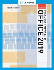 Illustrated Microsoft¬Office 365 & Office 2019 Intermediate
