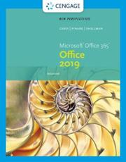 New Perspectives Microsoft¬Office 365 & Office 2019 Advanced