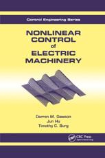 Nonlinear Control of Electric Machinery