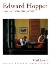 Edward Hopper: The Art and The Artist - Gail Levin, Whitney Museum of American Art, Edward Hopper (artist)