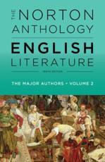 The Norton Anthology of English Literature Volume 2 - Stephen Greenblatt (editor)