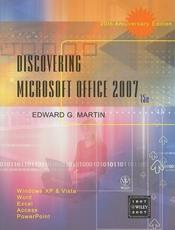 Discovering Microsoft Office 2007
