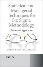 Statistical and Managerial Techniques for Six Sigma Methodology