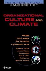 Handbook of Organizational Culture (And Climate)