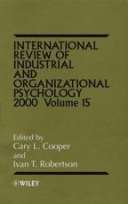 International Review of Industrial and Organizational Psychology. Vol. 15 2000