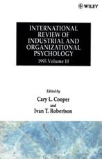International Review of Industrial and Organizational Psychology. Vol. 10 1995