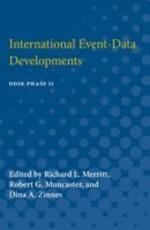 International Event-Data Developments