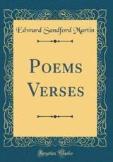 Poems Verses (Classic Reprint)