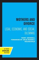 ISBN: 9780520369597 - Mothers and Divorce