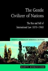 ISBN: 9780521548090 - The Gentle Civilizer of Nations