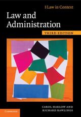 Law and Administration