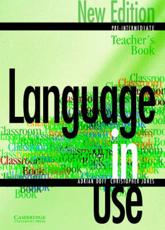 Language in Use. Pre-Intermediate Teacher's Book