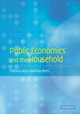 Public Economics and the Household