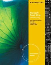 New Perspectives on Microsoft¬ Excel¬ 2010, Introductory International Edition