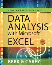 Data Analysis With Microsoft¬ Excel¬