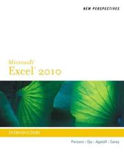 New Perspectives on Microsoft¬ Excel¬ 2010, Introductory