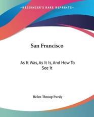 San Francisco - Helen Throop Purdy (author)