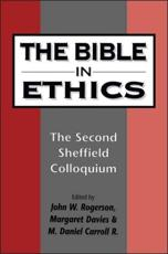 The Bible in Ethics