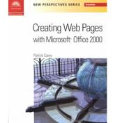 New Perspectives On Creating Web Pages With Microsoft Office 2000