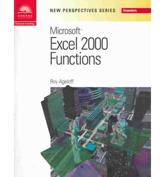 New Perspectives on Microsoft Excel 2000 Functions - Essentials