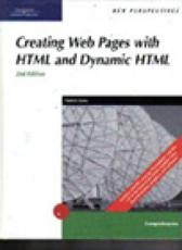 Creating Web Pages With HTML/DHTML
