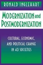Modernization and Postmodernization - Ronald Inglehart (author)