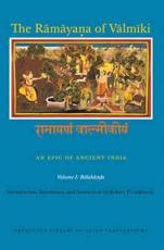 The Ramayana of Valmiki - Valmiki, Robert P. Goldman