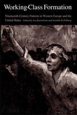 Working-Class Formation - Ira Katznelson (editor), Aristide R. Zolberg (editor)