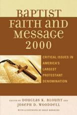 The Baptist Faith and Message 2000