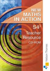 New Maths in Action S4/3 Teacher Resource CD-ROM