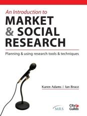 An Introduction to Market & Social Research