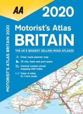 Motorists Atlas Britain 2020