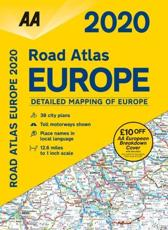 Road Atlas Europe 2020