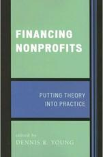 Financing Nonprofits