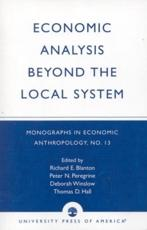 Economic Analysis Beyond the Local System. Volume 13