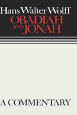 Obadiah and Jonah - Hans Walter Wolff, Margaret Kohl (translator)
